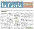 La Croix: Une enquête souligne les souffrances des victimes d'inceste 10/05//10